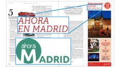 Posible publicidad subliminal de Ahora Madrid en prensa.