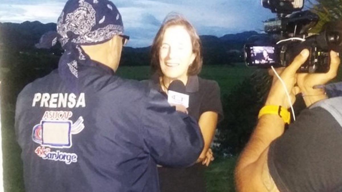 La periodista Salud Hernández en una imagen de archivo (Foto: Geovanny Hernández)