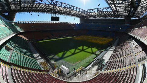 El estadio de San Siro tendrá una reventa histórica para el partido del año. (Getty)