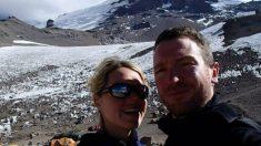 La fallecida, Maria Strydom, y su marido eran aficionados al alpinismo.