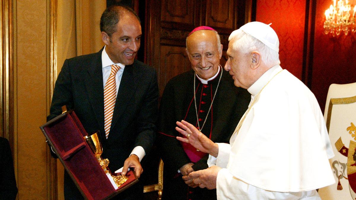 Visita de Benedicto XVI a Valencia en 2006. (Foto: Getty)