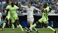 Gareth Bale en el choque frente al City. (Foto: AFP)