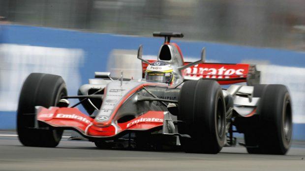 Pedro Martínez de la Rosa logró el mejor resultado de su vida deportiva con McLaren finalizando segundo el GP de Hungría de 2006. (Getty)