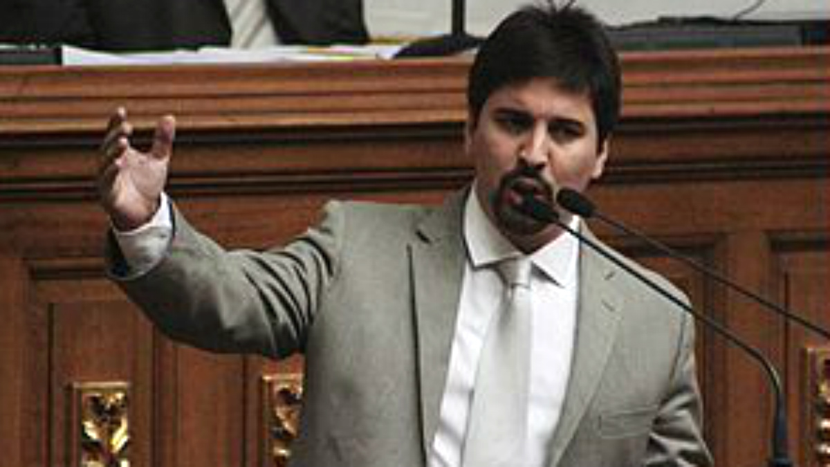 Freddy Guevara, líder opositor en la Asamblea de Venezuela.