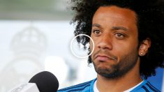 Marcelo atendió a los medios. (Reuters)