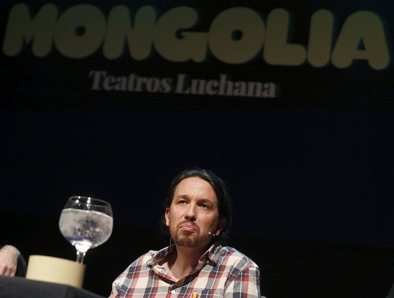 Pablo Iglesias, candidato de Podemos (Foto: EFE)
