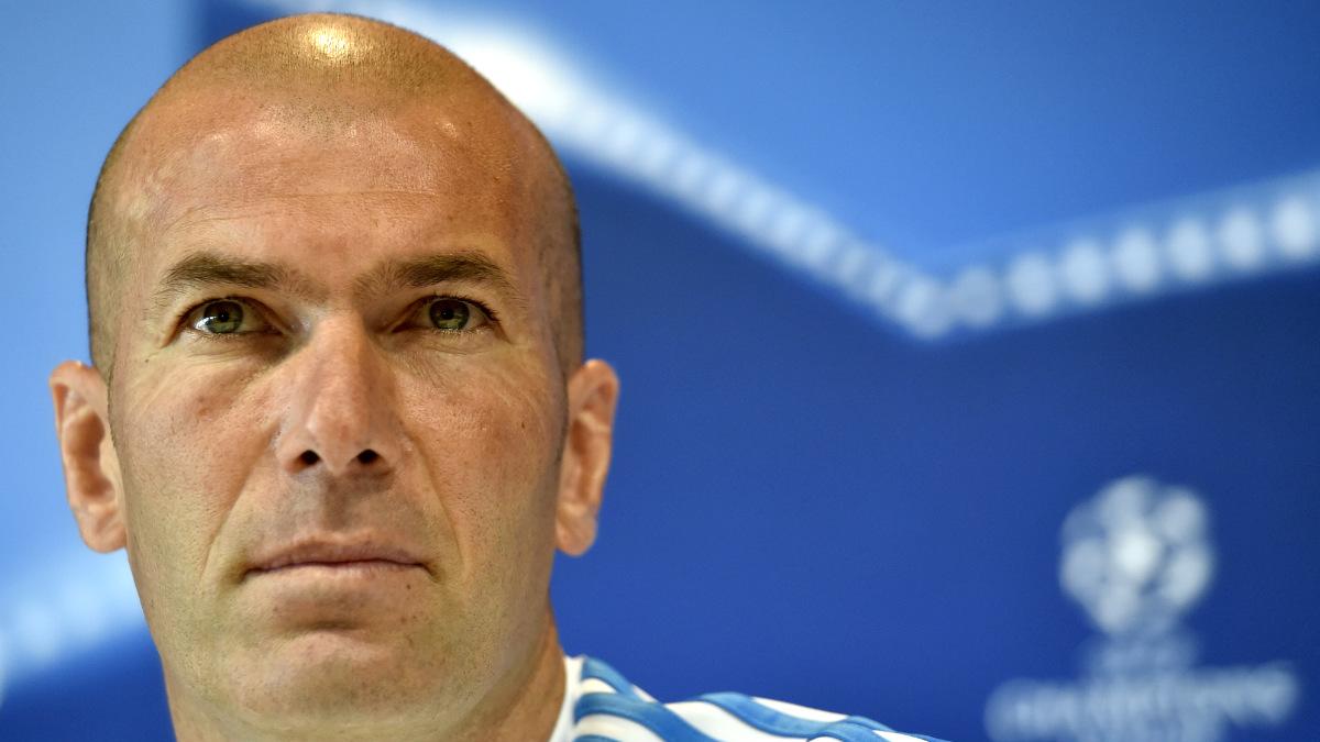 Zinedine Zidane, en el Open Media Day. (AFP)