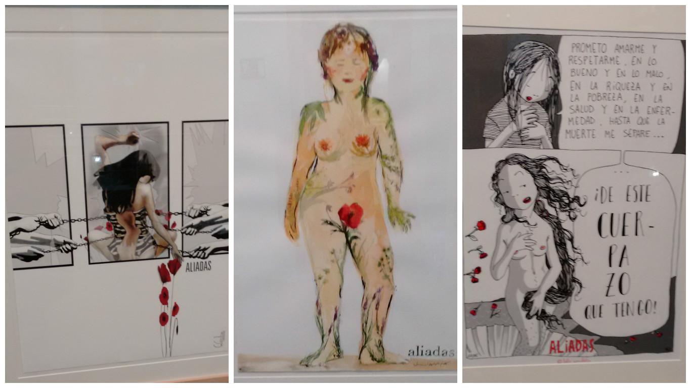 Algunas de las imágenes de la exposición. (Fotos: OKDIARIO)