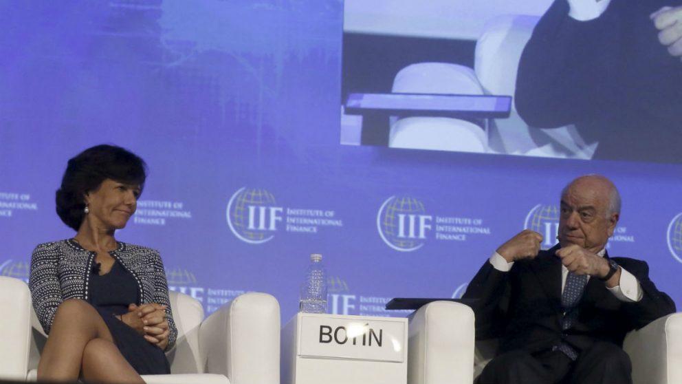 Ana Botín y Francisco González (Foto: EFE).