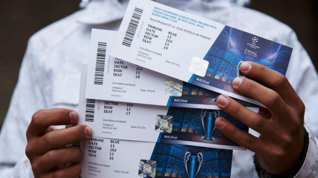 Pagan casi ¡13.000 euros! por una entrada para la final de la Champions