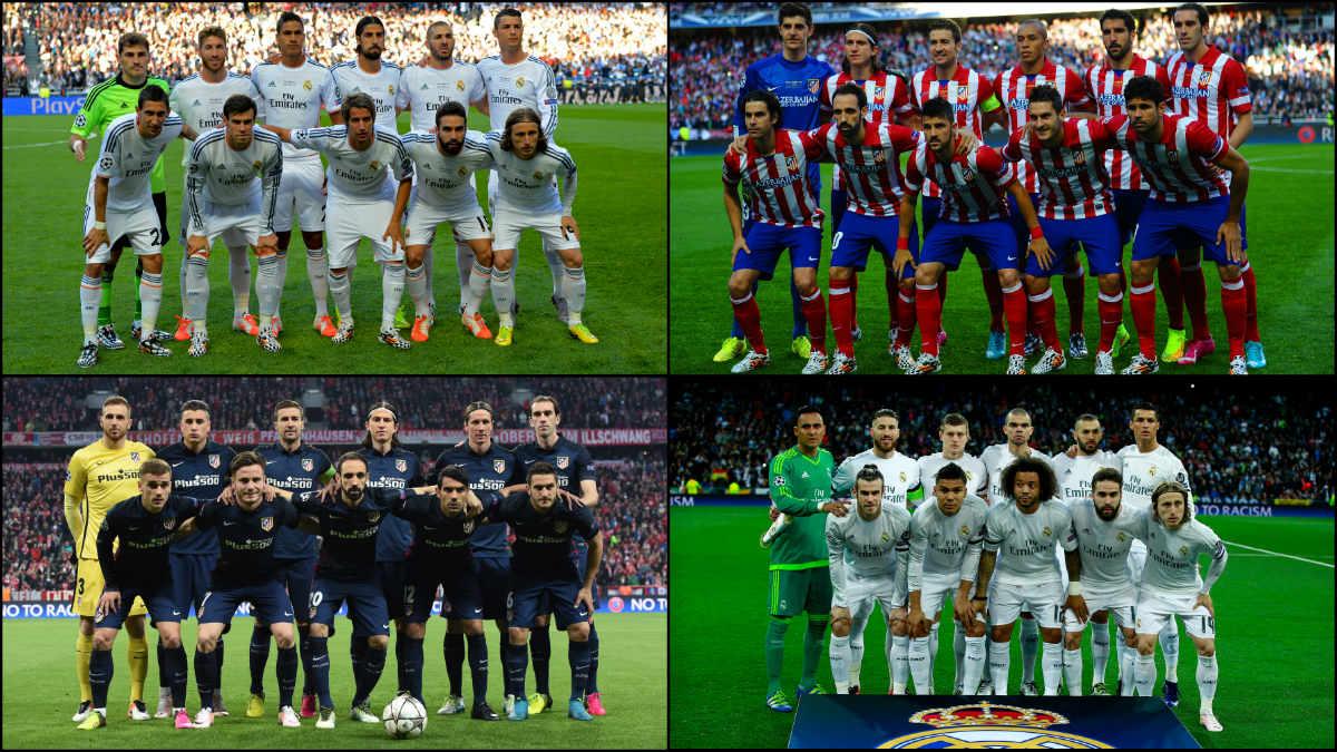 ¿Cómo han cambiado Real Madrid y Atlético desde Lisboa?