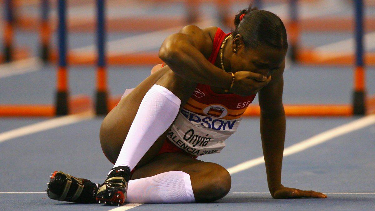 Josephine Onyia también hizo trampas en Pekín 2008. (Getty)