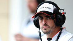 Fernando Alonso, en un Gran Premio esta temporada. (Getty)