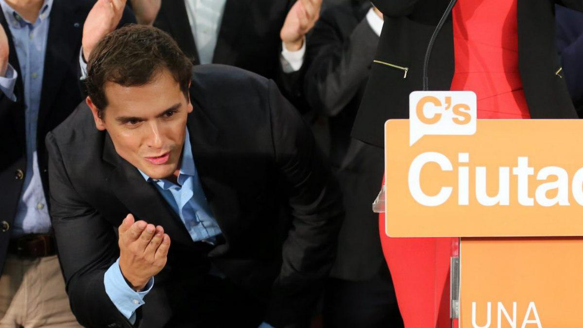 Albert Rivera, presidente de Ciudadanos. (Foto: AFP)