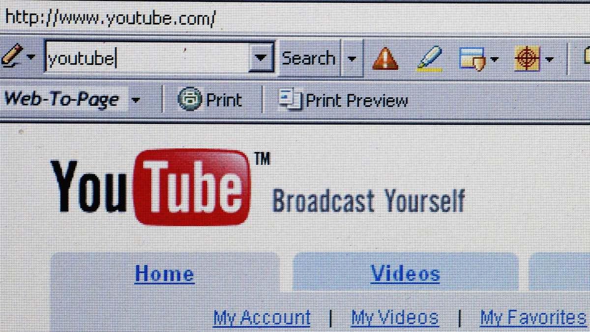 Youtube (Foto: GETTY).