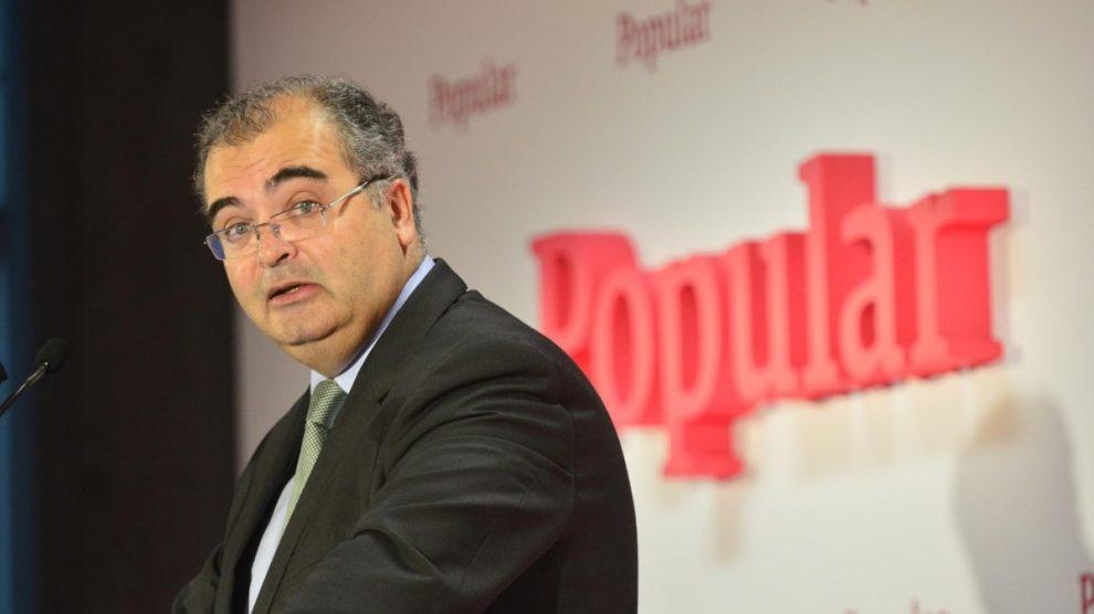 Ángel Ron, expresidente del Banco Popular. (Foto: EFE)