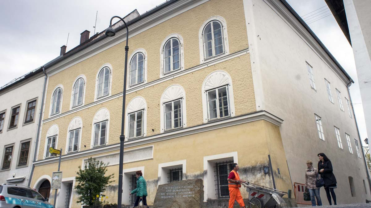La casa donde Hitler nació en Austria (Foto: AFP)