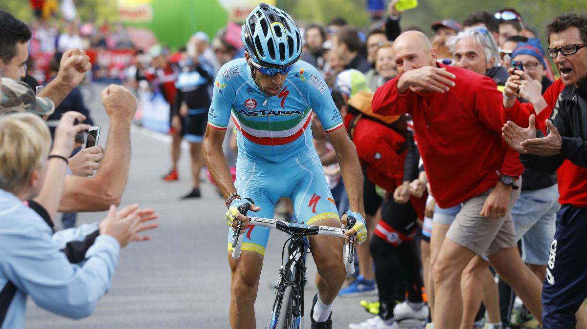 Nibali ganó el Giro de Italia gracias a su enorme fe en sus ataques. (AFP)