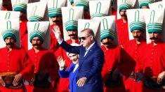 Erdogan, durante las celebraciones del 663 aniversario de la conquista de Estambul por los otomanos (Foto: Reuters)