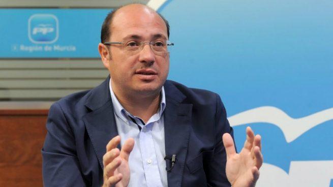 Pedro Atonio Sánchez, presidente de Murcia