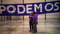 Acto de podemos en campaña electoral. (Foto: GETTY)