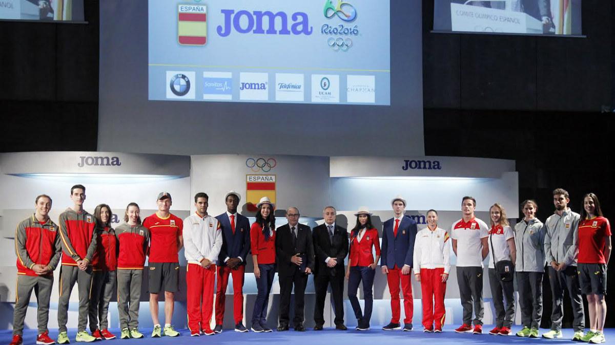 La equipación con la que España estará en los Juegos de Río. (COE)