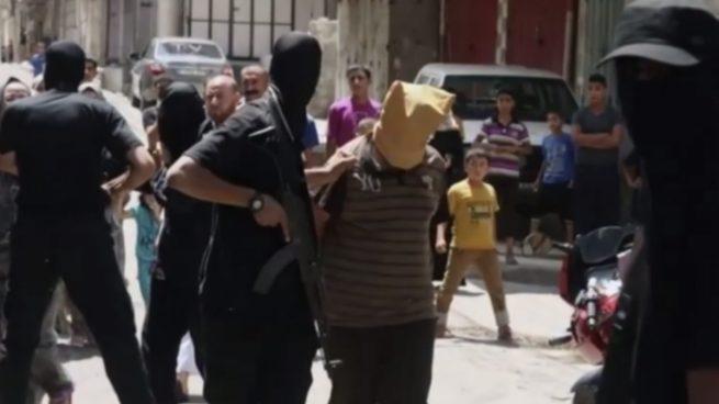 Hamás ejecuta públicamente en la franja de Gaza a tres hombres por crímenes de derecho común