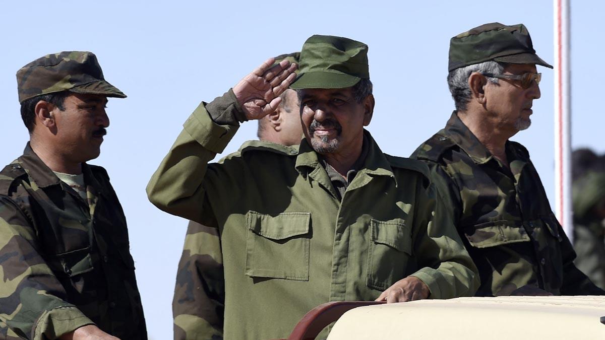 El líder del Frente Polisario, Mohamed Abdelaziz. (Foto: AFP)