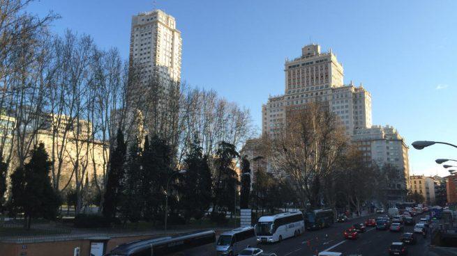 Torre de Madrid y Edificio España