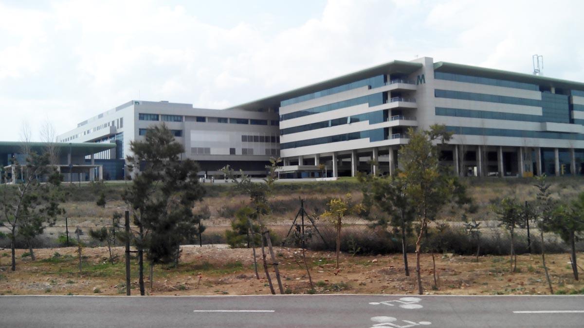 Vista general del Hospital de Son Espases.