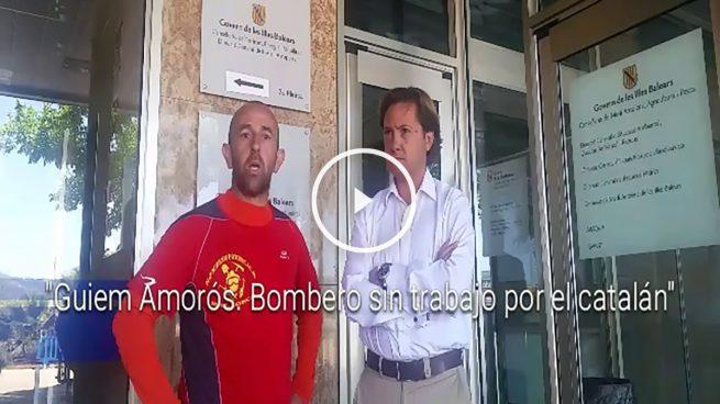 Un bombero de las islas baleares se queda en el paro por no saber catalán a pesar de su experiencia