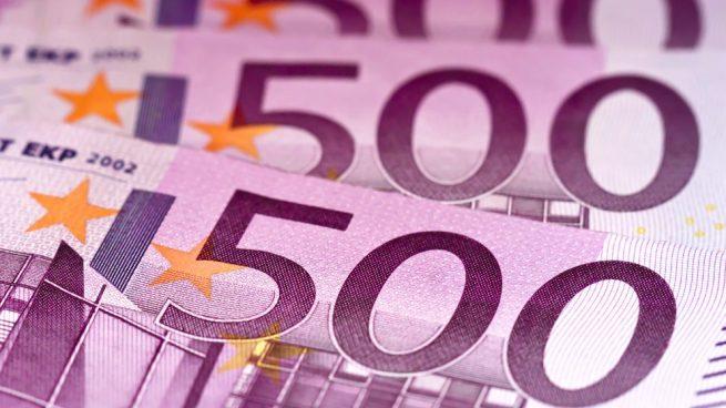 Billetes de 500 euros (Foto: GETTY/ISTOCK).