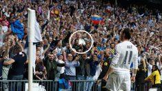 Gareth Bale celebra el gol para indignación de Rac1. (EFE)