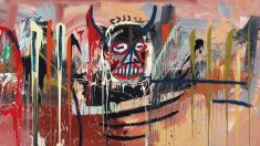 Obra de Jean-Michel Basquiat subastada este martes. (Foto: Christies)