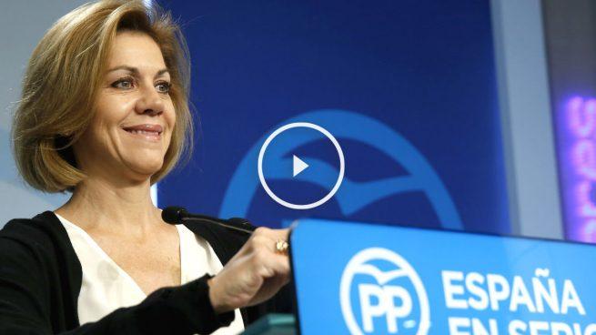 Cospedal: «El PP volverá a ser referente de crecimiento, prosperidad y futuro»