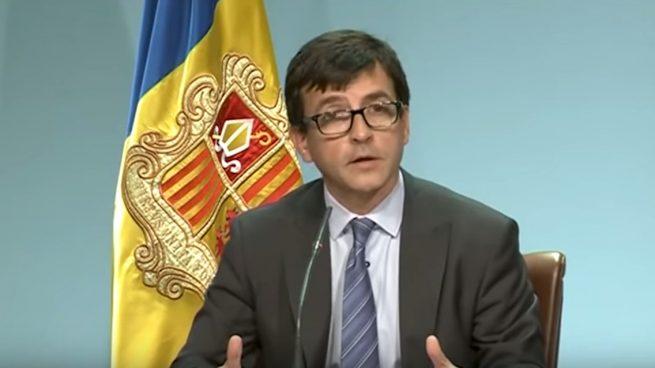 Jordi Cinca, ministro de Finanzas de Andorra (Foto:Youtube).