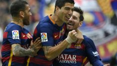 Luis Suárez se garantizó su primer pichichi en la Liga. (AFP)