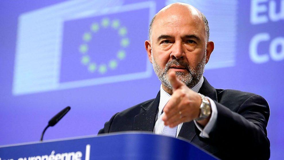 El comisario de Asuntos Económicos y Financieros de la UE, Pierre Moscovici.