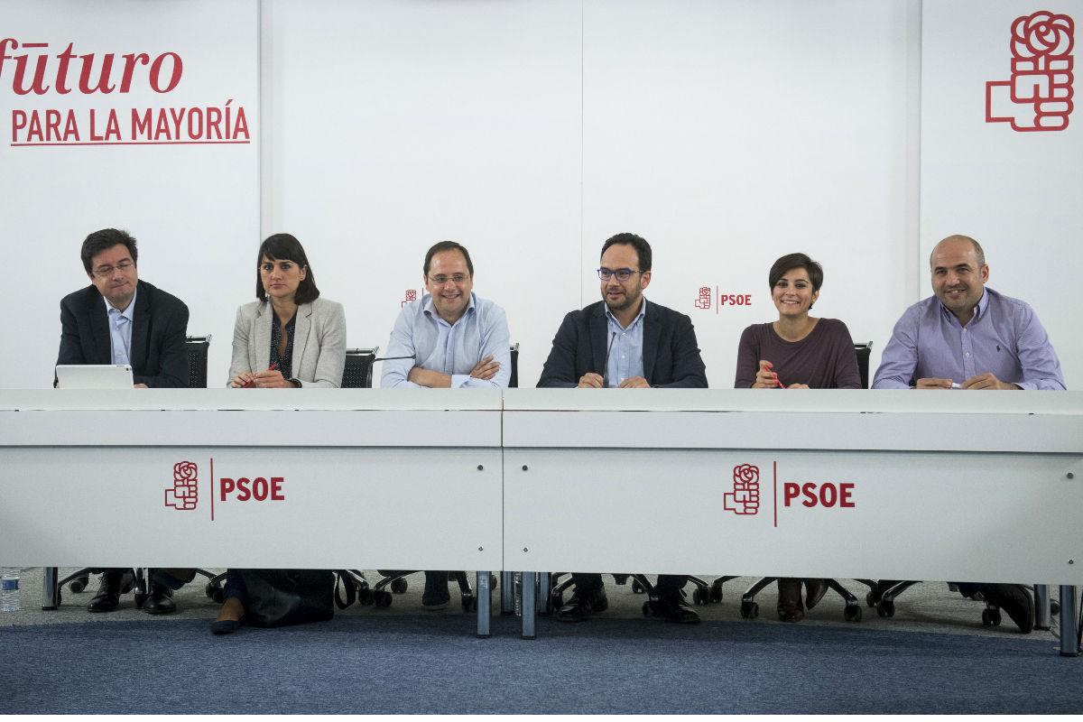 Reunión del Comité Electoral. (Foto: EFE)