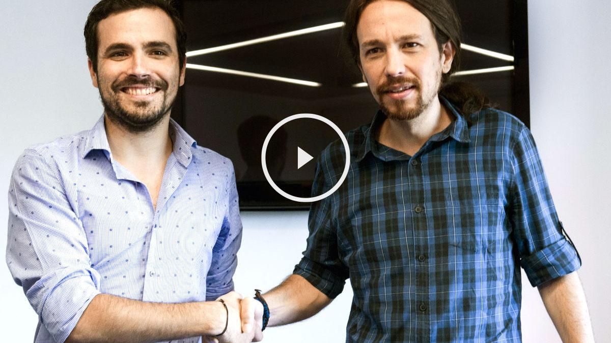 Pablo Iglesias y Garzón alcanzan un acuerdo