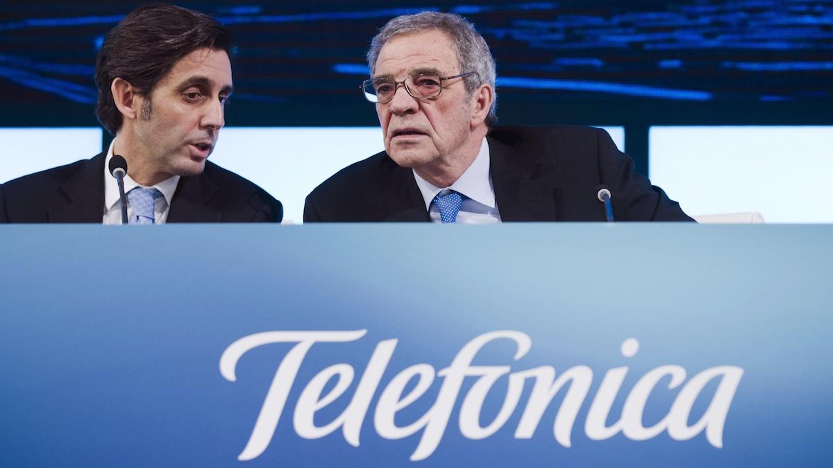 José María Álvarez Pallete y César Alierta. (Foto: EFE)