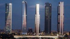 Imagen del proyecto de la «quinta torre» que se levantará en el Paseo de la Castellana, en Madrid.