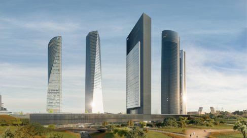 Así será la quinta torre que ha proyectado el Grupo Villar Mir.