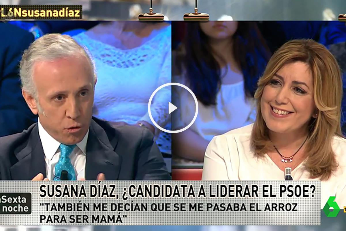 Susana Díaz en La Sexta Noche
