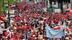 Manifestación el 1 de mayo de apoyo a Maduro (Foto: Reuters)