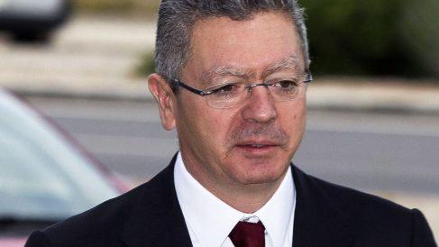 Alberto Ruiz-Gallardón, Manuel Cobo y Jaime Mayor Oreja citados en Lezo (Foto: EFE)