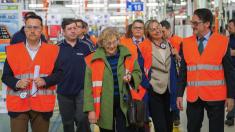Foto de archivo de la exjueza Carmena de visita a una empresa madrileña. (Foto: Madrid)