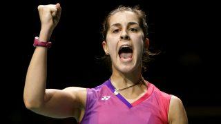 Carolina Marín se proclamó campeona de Europa. (Reuters)