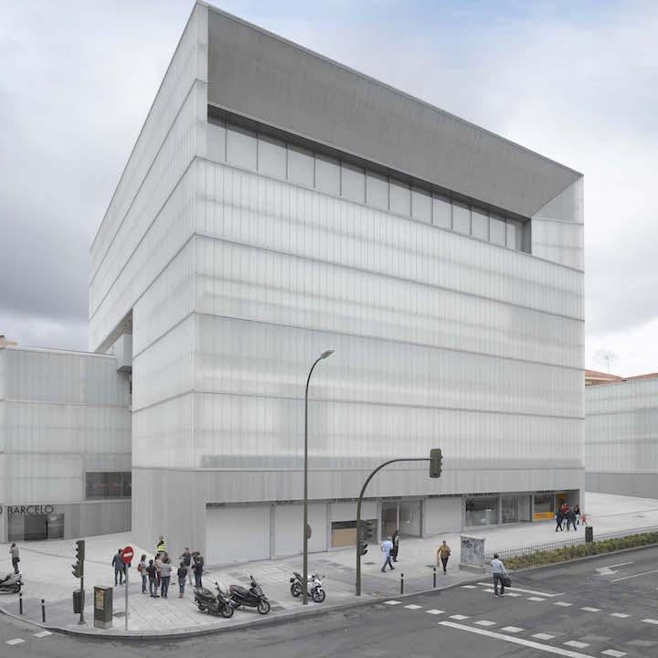 El Centro Deportivo Municipal Barceló que abrió el 28 de abril. (Foto: Madrid)