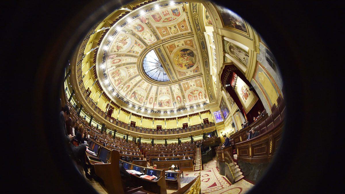 Congreso de los Diputados. (Foto: AFP)